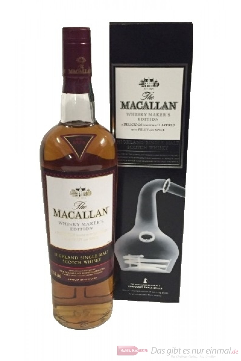 The Macallan Whisky Maker´s Edition Curiously Small Stills