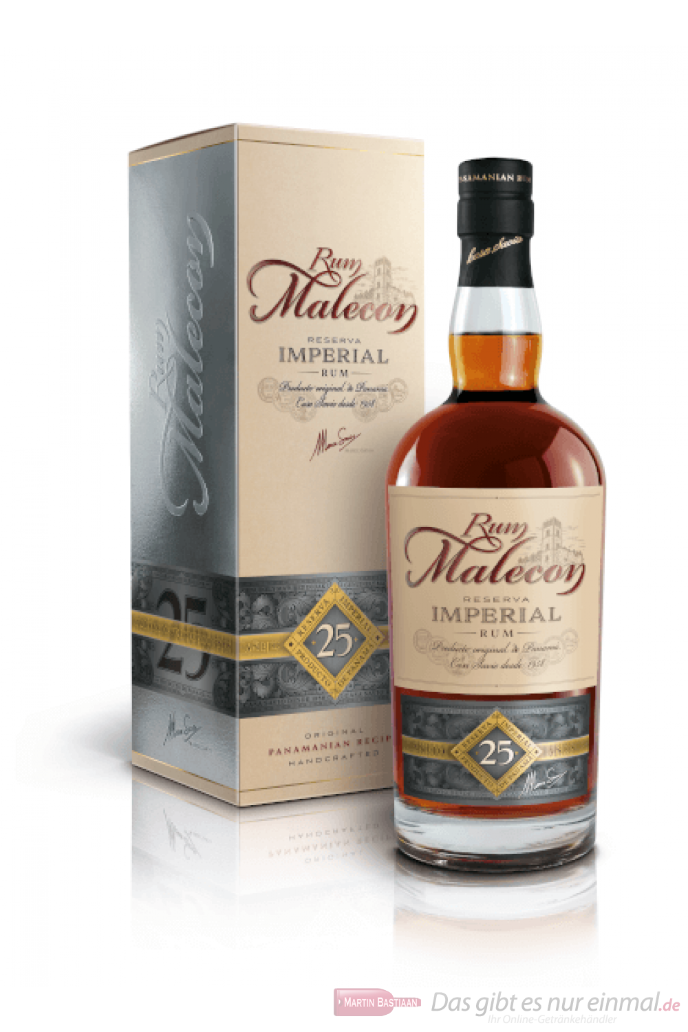 Malecon 25 Years Reserva Imperial Rum 0,7l