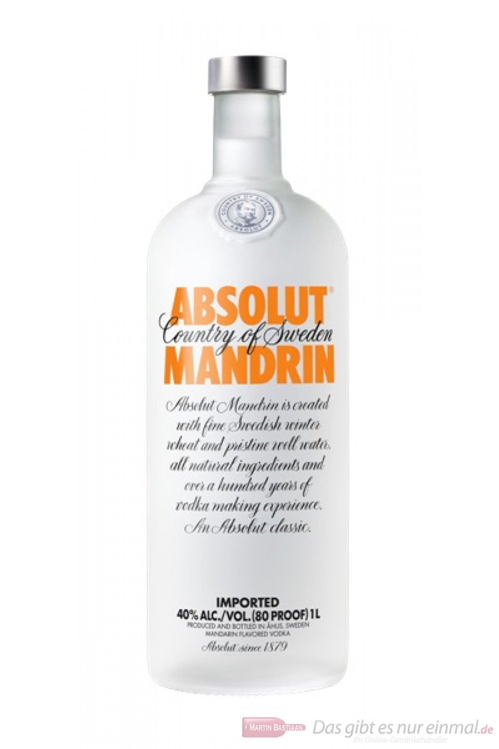 Absolut Vodka Mandarin