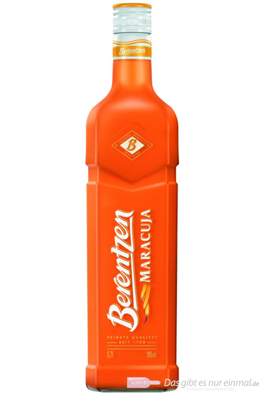 Berentzen Maracuja 18% 0,7l Flasche
