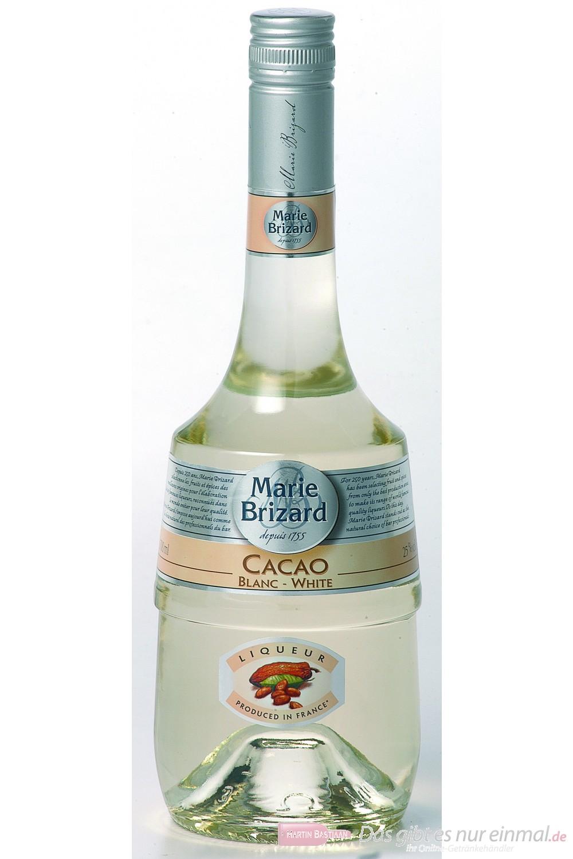 Marie Brizard Crème de Cacao White Likör 25% 0,7 l Flasche