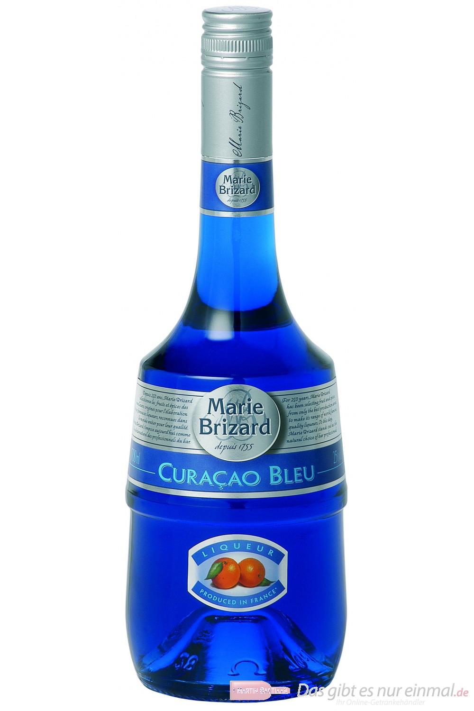 Marie Brizard Curacao Blue Likör 25% 0,7 l Flasche