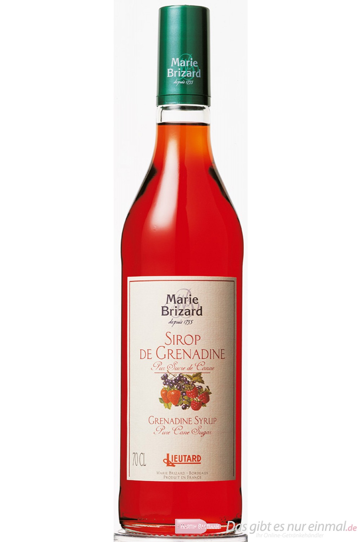 Marie Brizard Grenadine Sirup 0,7 l Flasche