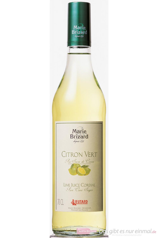 Marie Brizard Sirup Lime Juice 0,7 l Flasche