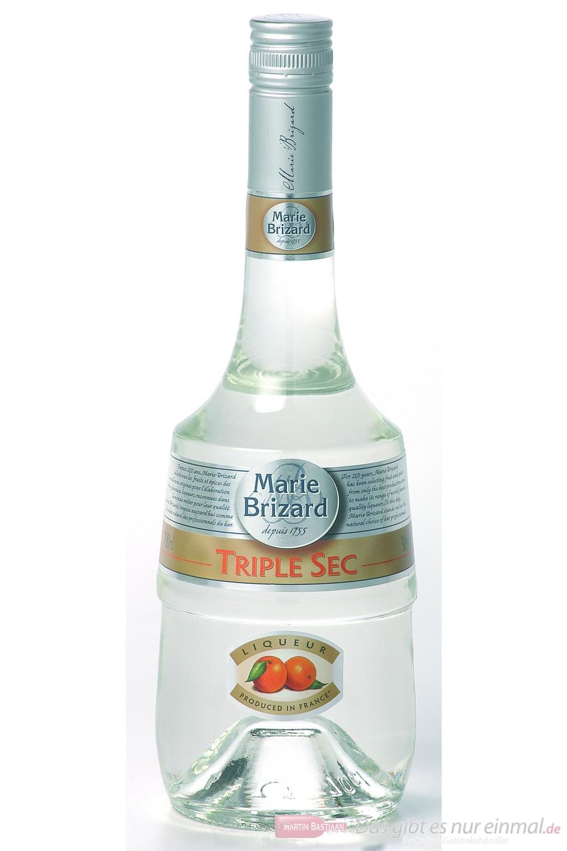 Marie Brizard Triple Sec Likör 39% 0,7 l Flasche