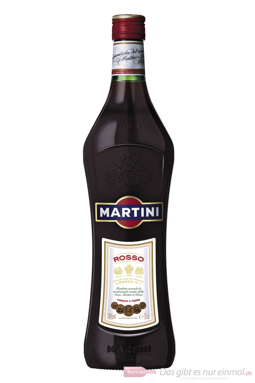Martini Rosso Wermut 15 % 0,75 l Flasche