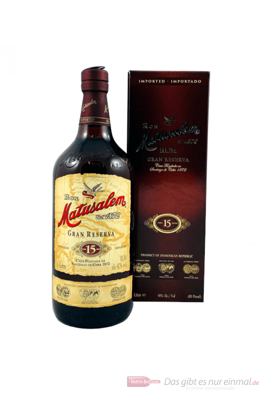 Ron Matusalem Solera 15 Gran Reserva Rum 1,0l