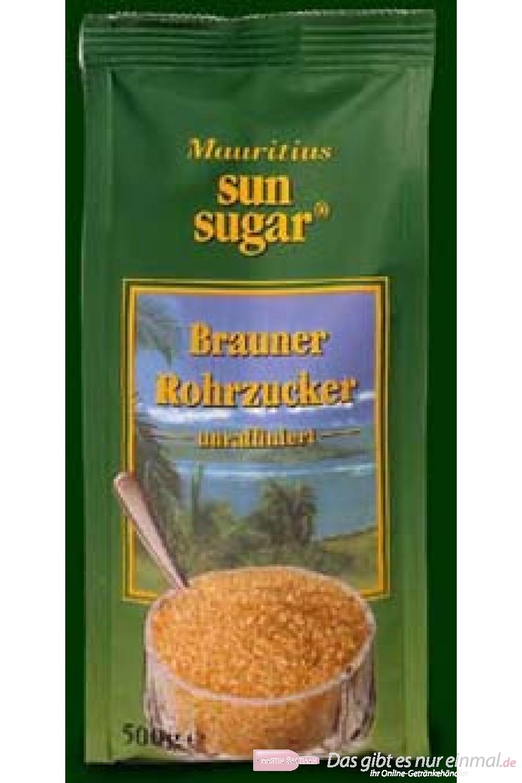 Mauritius Rohrzucker 500 gr.
