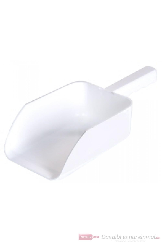 Contacto Mehrzweckschaufel aus weißem Polypropylen Materialstärke 3 mm sehr robust 35cm