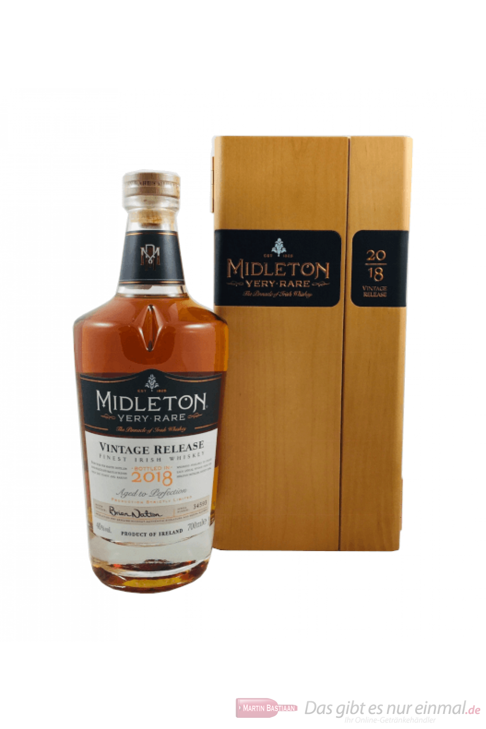 Midleton Very Rare 2018 Irish Whisky 0,7l