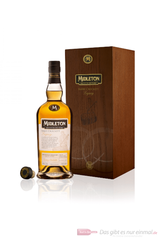 Midleton Barry Crockett Legacy in Holzkiste Irish Whisky