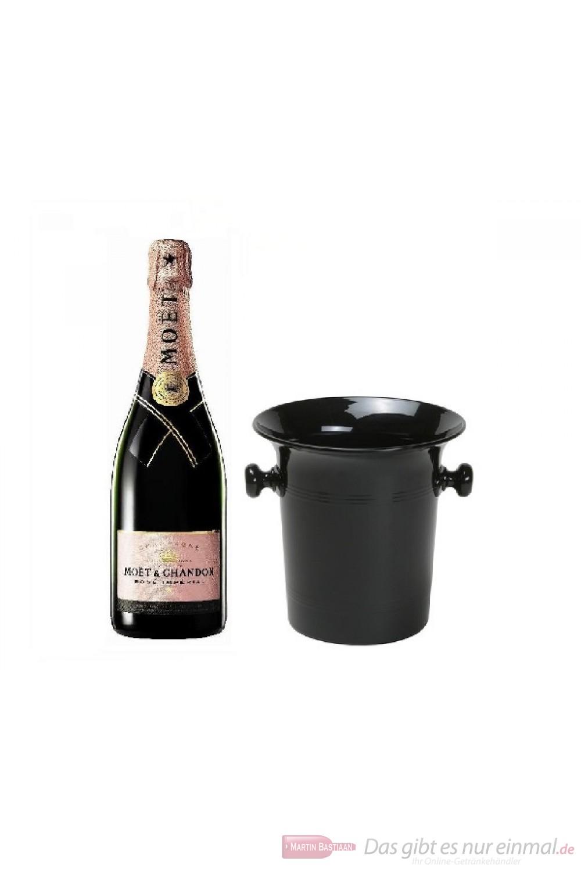 Moet & Chandon Champagner Impérial Rosé in Kübel 0,75l
