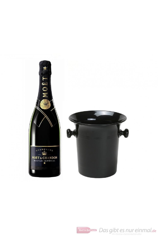 Moet & Chandon Nectar Impérial Champagner in Kübel 0,75l