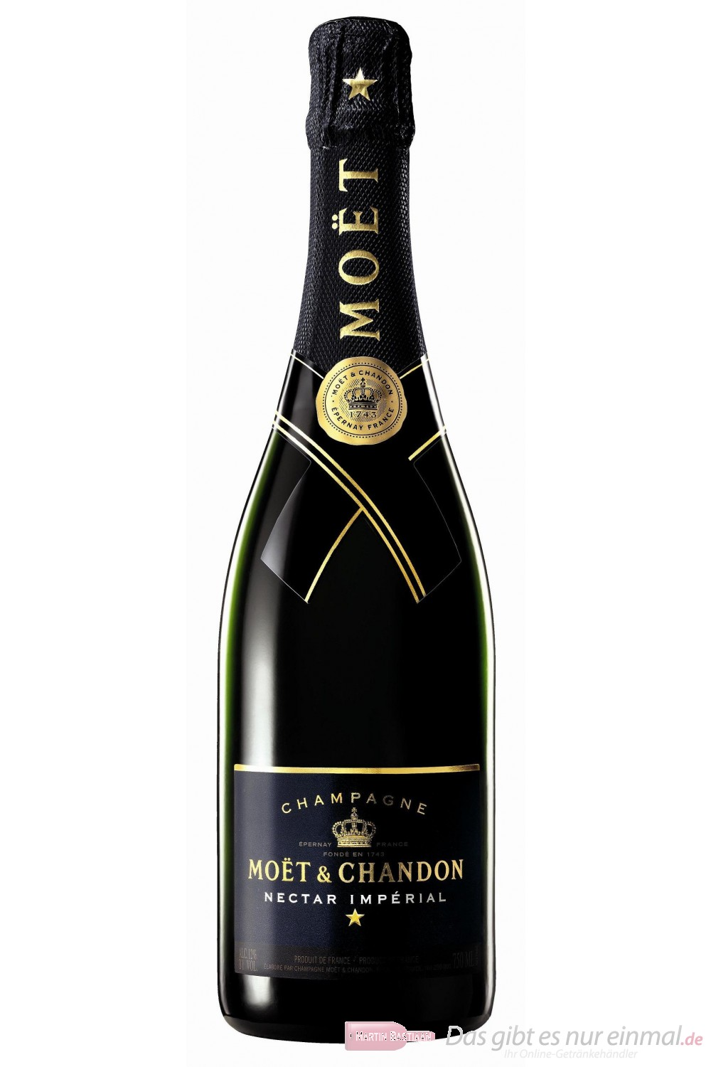 Moet & Chandon Champagner Nectar Impérial 12% 0,75l Flasche