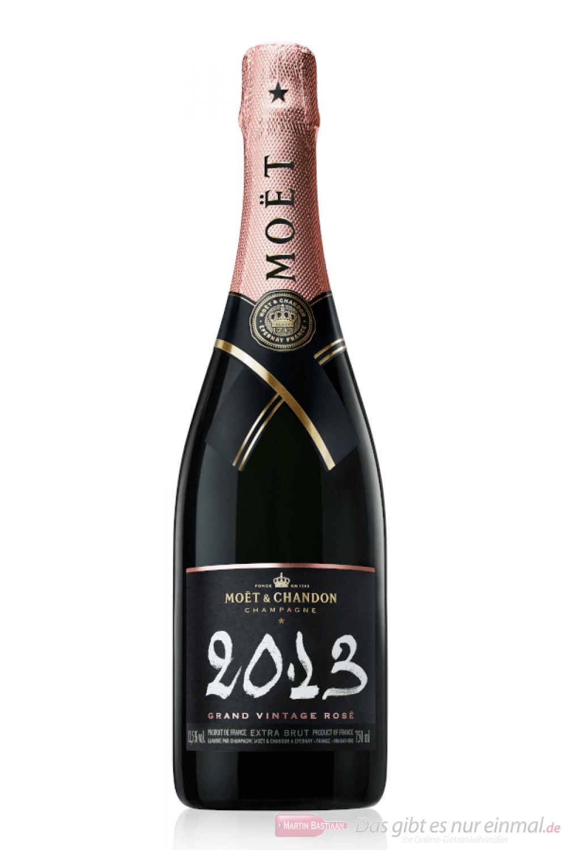 Moet & Chandon Champagner Grand Vintage Rosé 2013 0,75 l