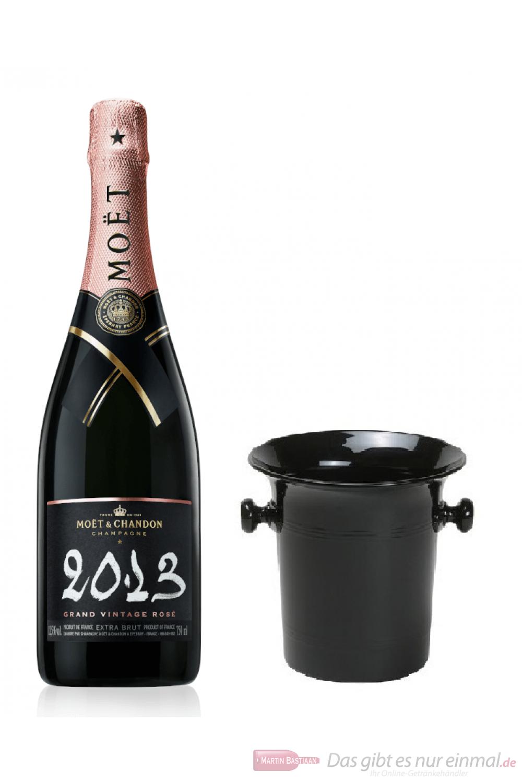 Moet & Chandon Champagner Grand Vintage Rosé 2013 in Kübel 0,75l