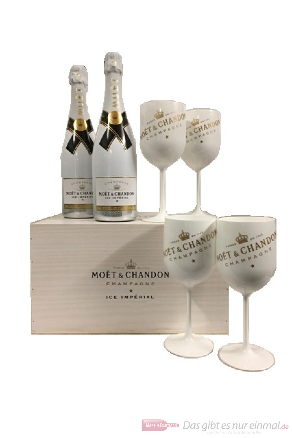 Moet & Chandon Ice + 4 Becher