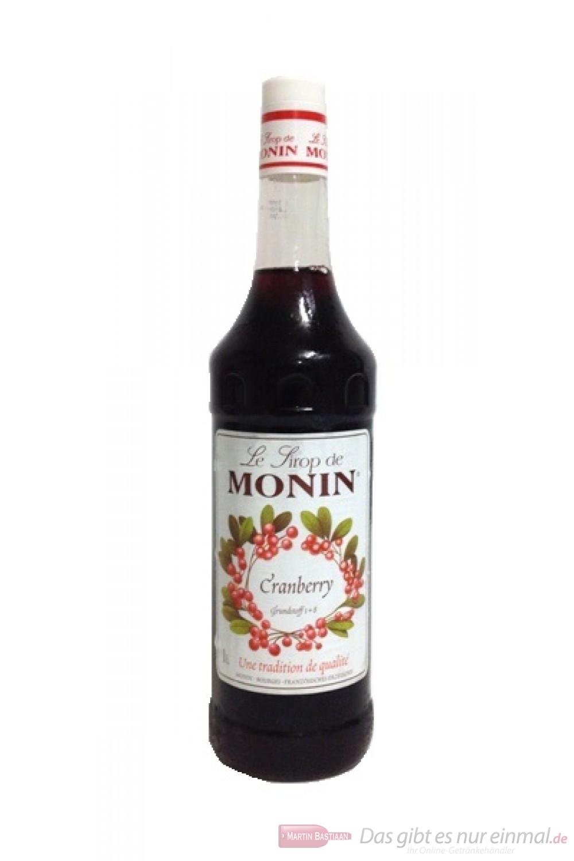 Le Sirop de Monin Cranberry