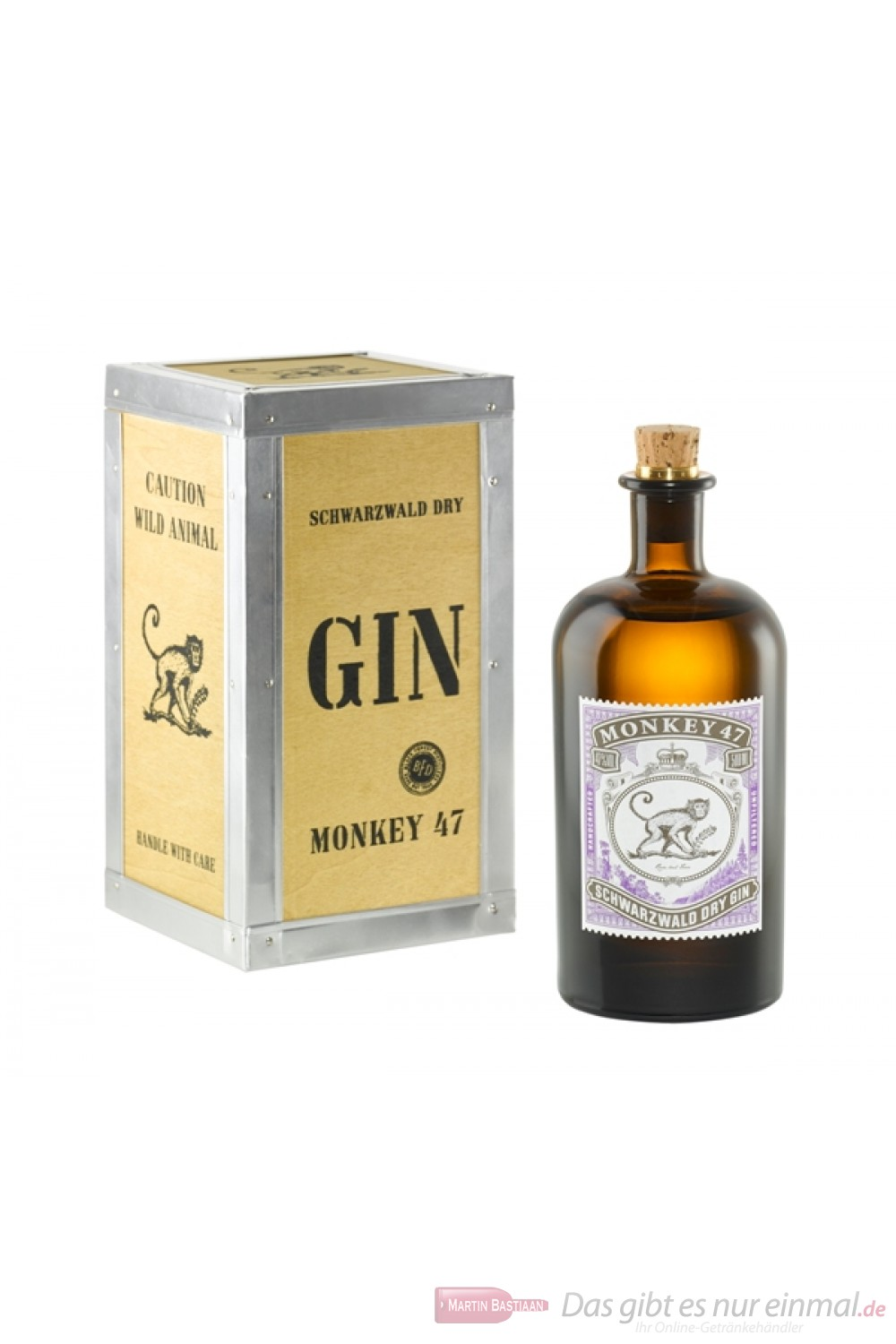Monkey 47 Gin in Holzkiste
