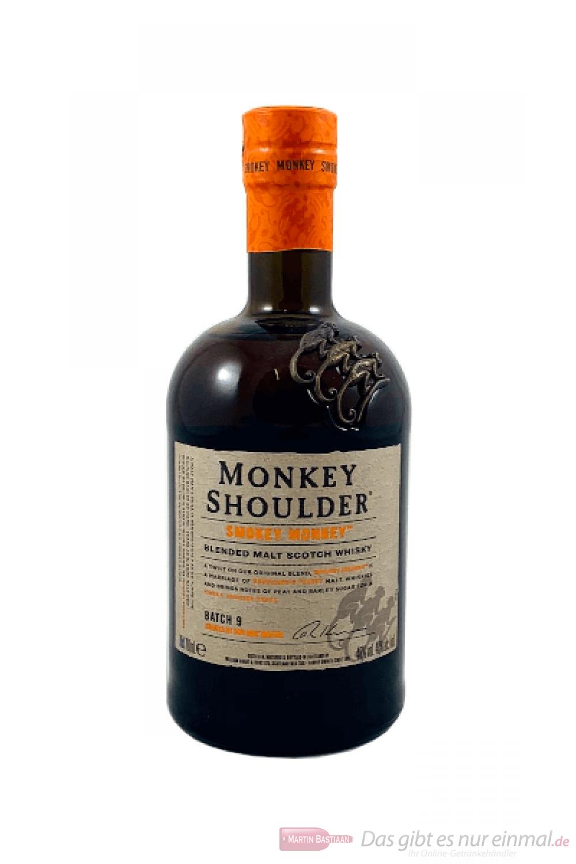 Monkey Shoulder Smokey Monkey Blended Malt Scotch Whisky 0,7l