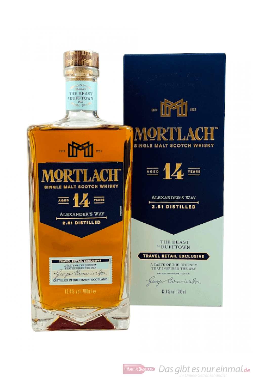Mortlach 14 Years Single Malt Scotch Whisky 0,7l