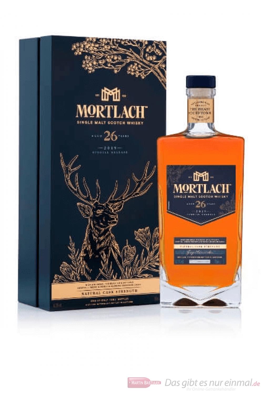 Mortlach 26 Years Single Malt Scotch Whisky 0,7l