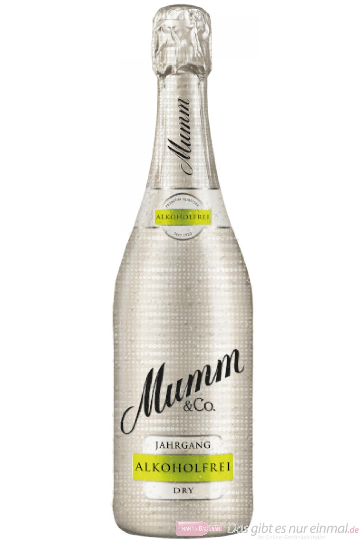 Mumm Dry Alkoholfrei Sekt 6-0,75 l