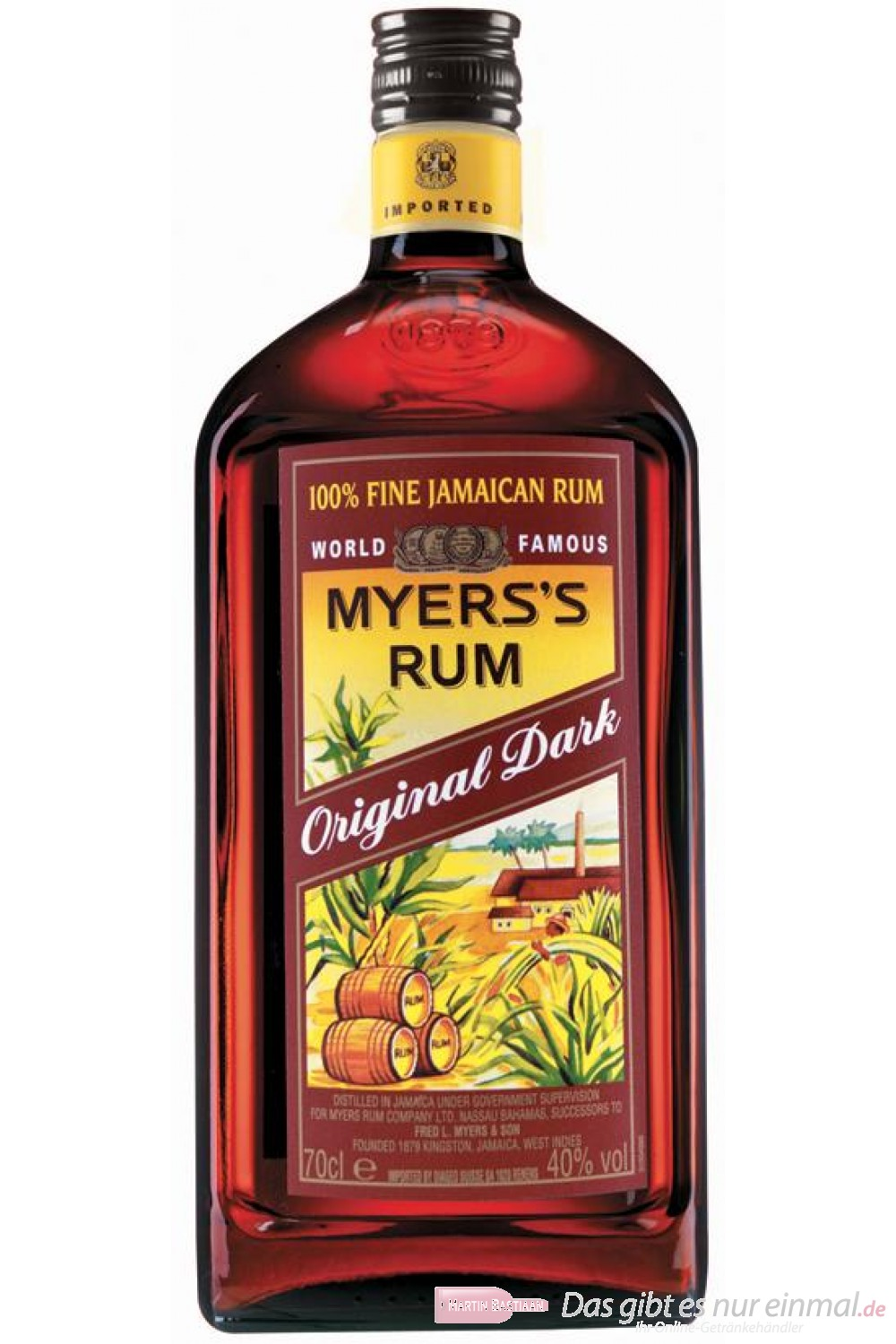 Myers´s Rum 40% 0,7 l Flasche