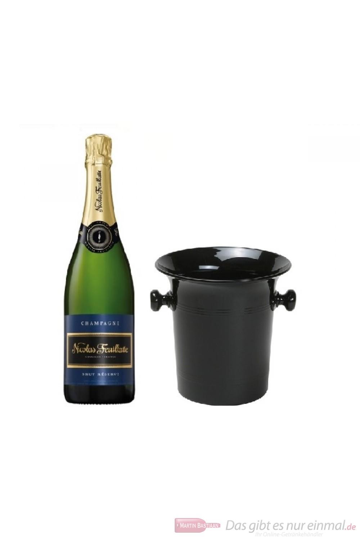 Nicolas Feuillatte Champagner Brut in Champagner Kübel 0,75l