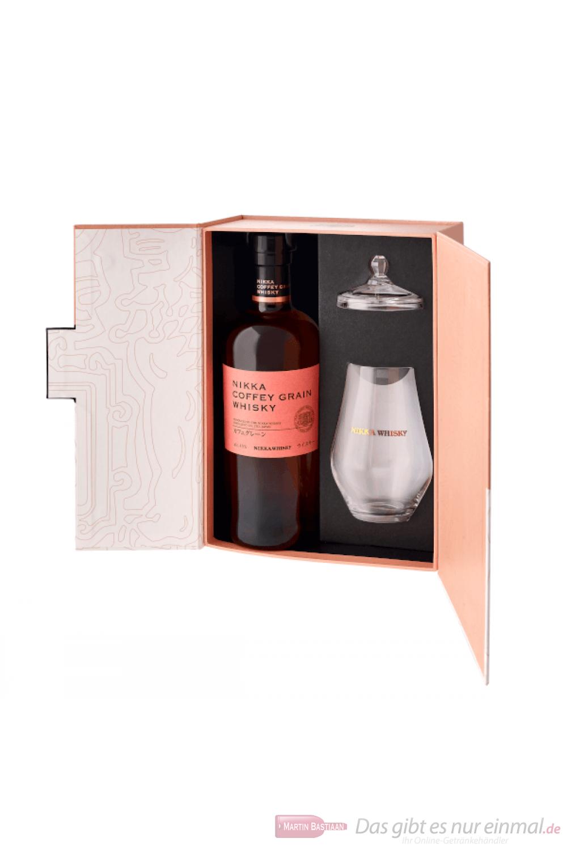 Nikka Coffey Grain mit Glas Japanees Whisky 0,7l