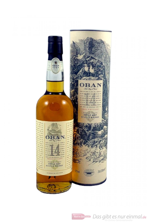 Oban 14 years Single Malt Scotch Whisky 0,2l