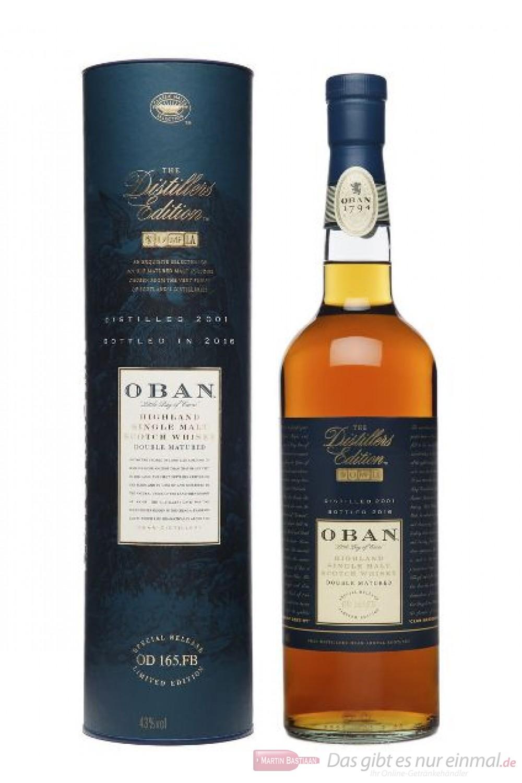 Oban Distillers Edition 2016/2001