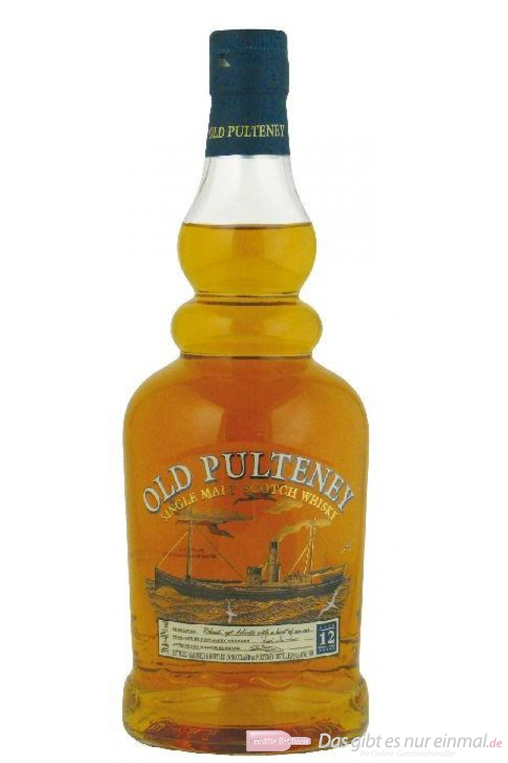 Old Pulteney 12 Years Single Malt Scotch Whisky 40% 0,7l Flasche