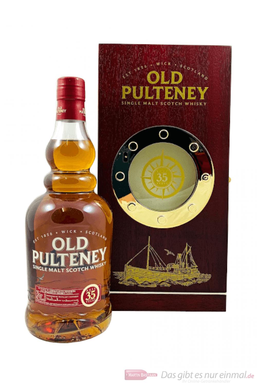 Old Pulteney 35 Years Single Malt Scotch Whisky 0,7l