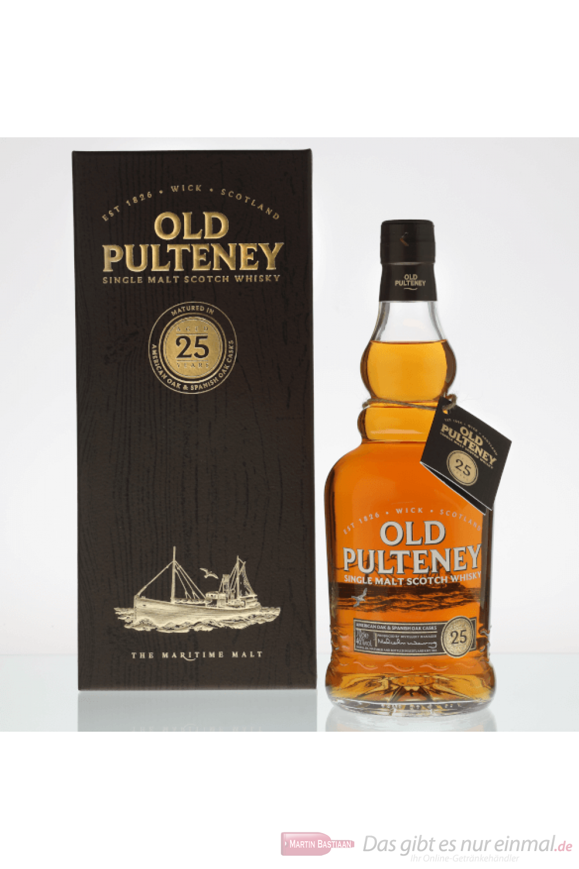 Old Pulteney 25 Years Single Malt Scotch Whisky 0,7l