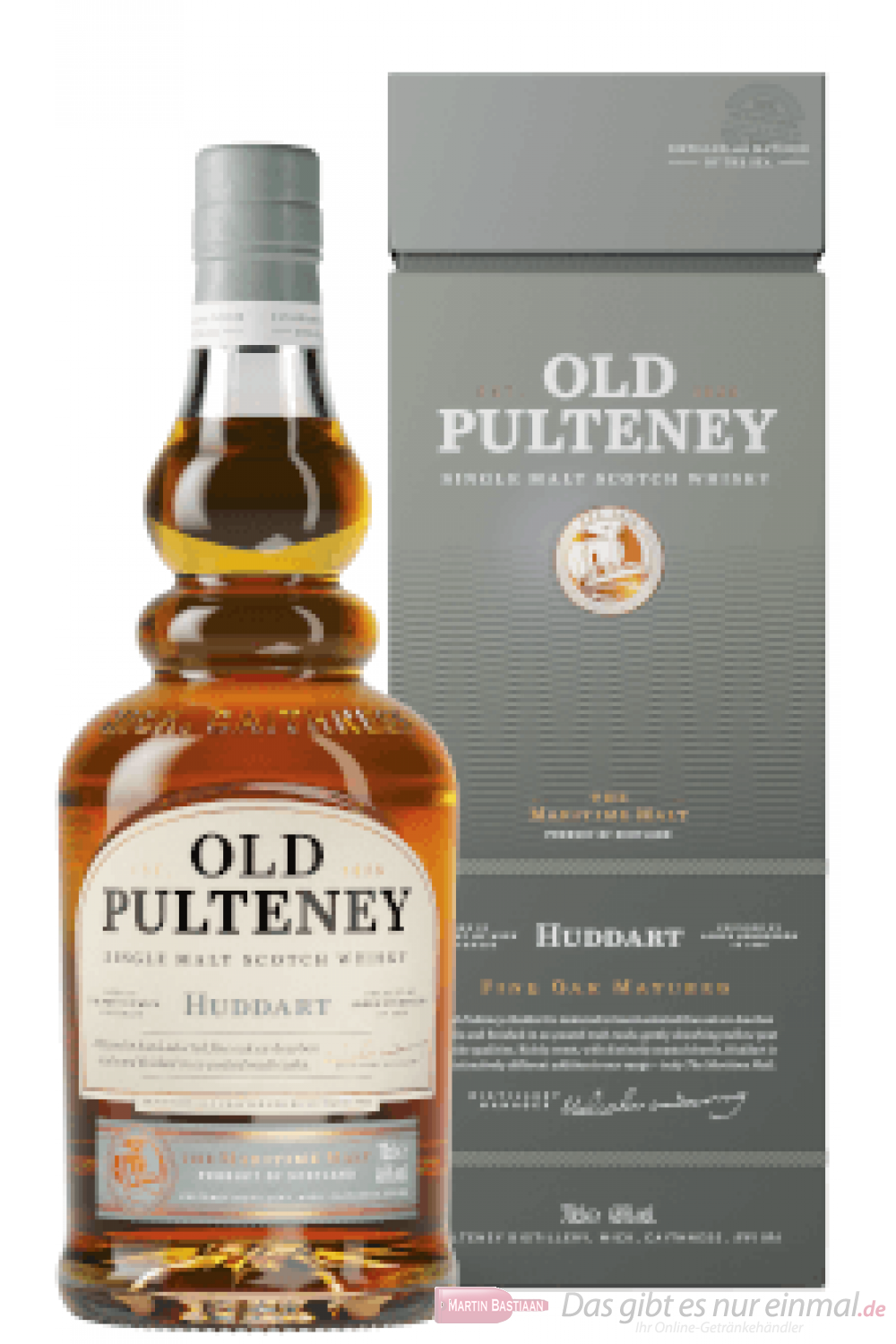 Old Pulteney Huddart Single Malt Scotch Whisky 0,7l