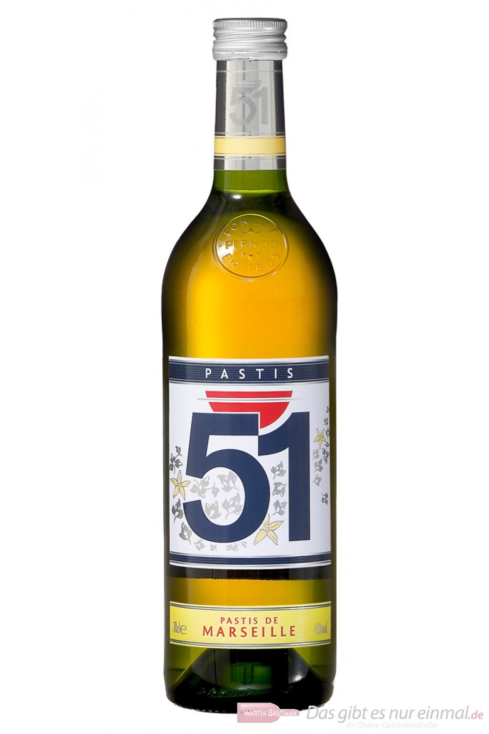 Pastis 51% Anis 0,7l Flasche