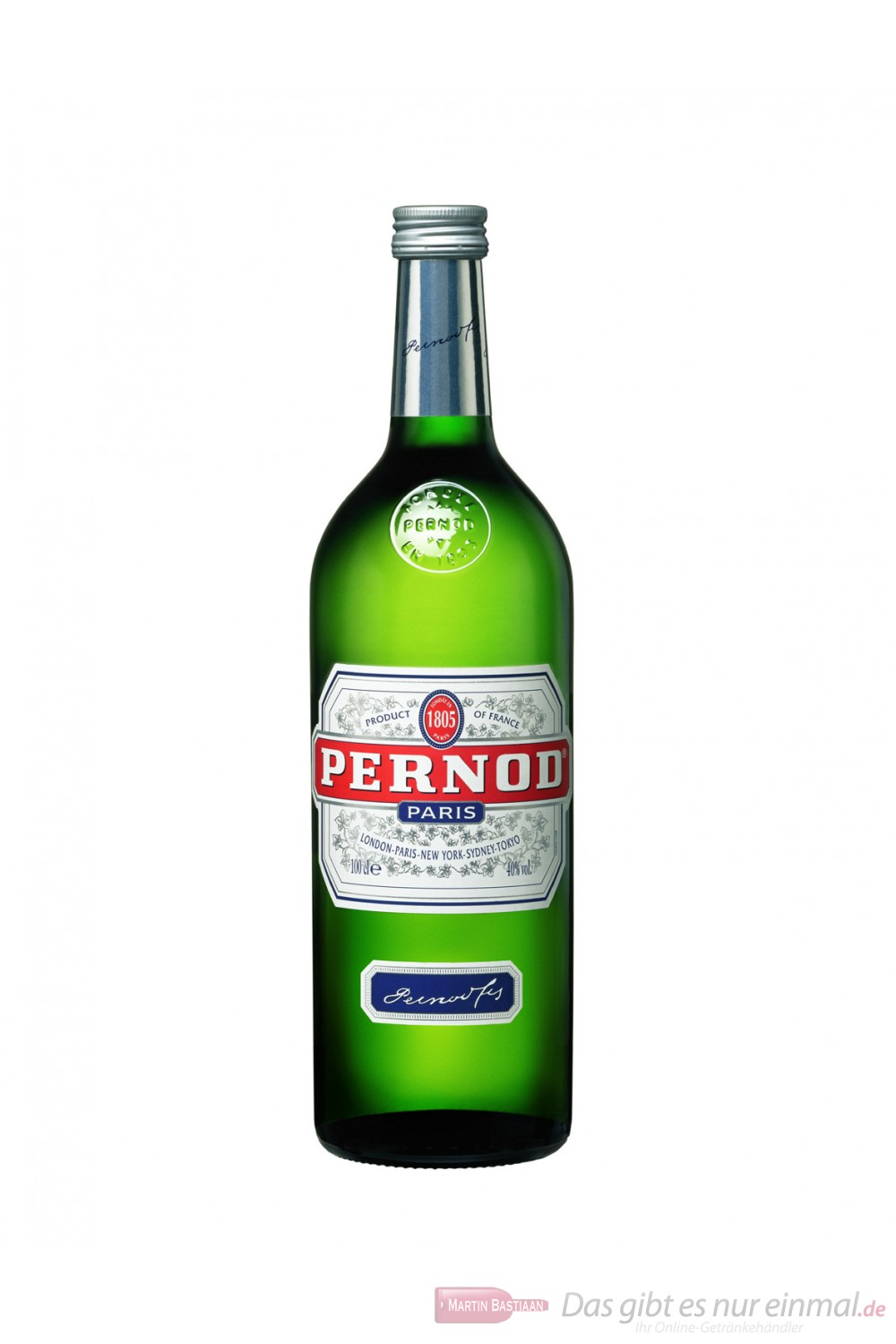 Pernod 40 % Anis 1,0 l Flasche