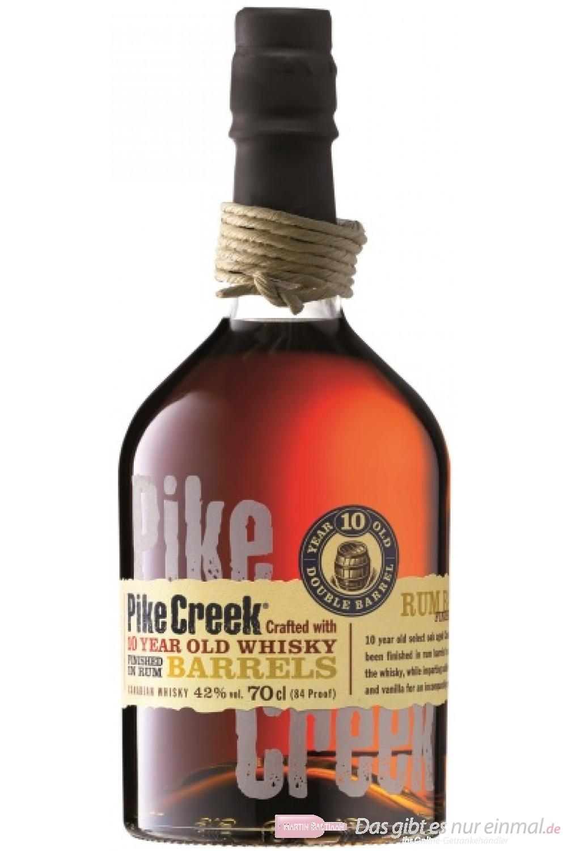 Pike Creek 10 Years Rum Barrel finished
