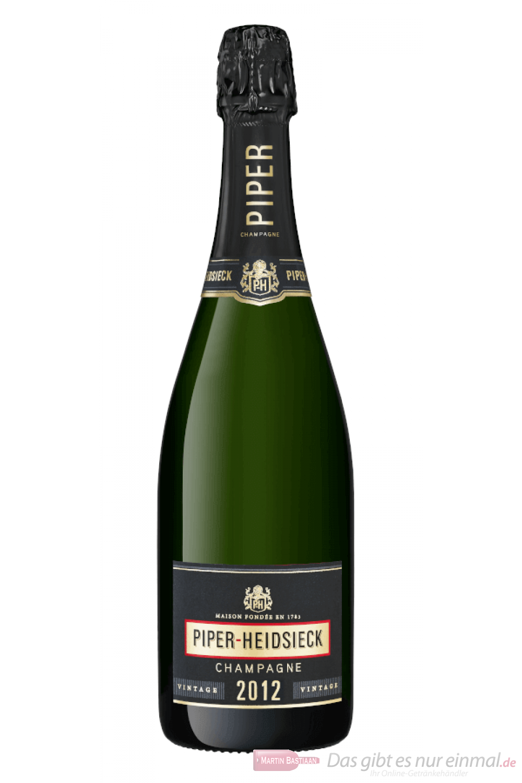 Piper Heidsieck Vintage Brut 2012 Champagner 0,75l