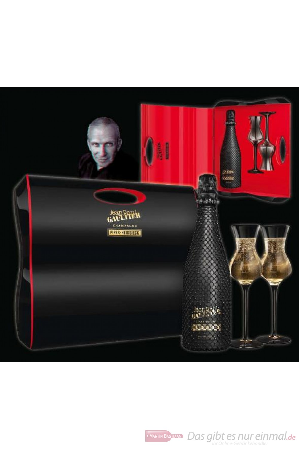 Piper Heidsieck Brut Skin Edition Privée Limited Edition Jean Paul Gaultier 12% 0,75l Flasche