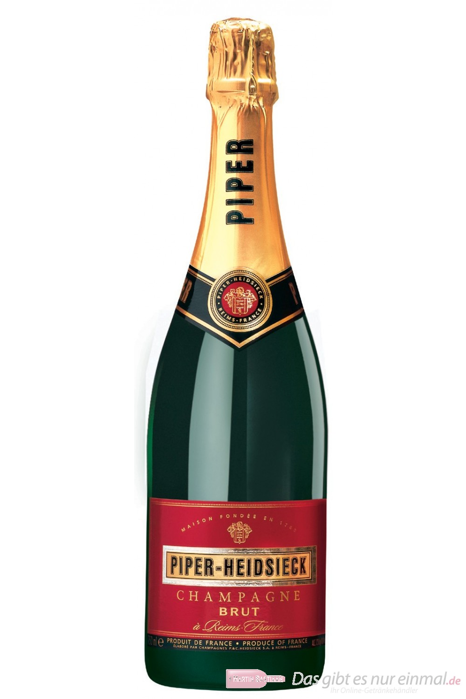 Piper Heidsieck Champagner Brut 12% 0,75l Flasche