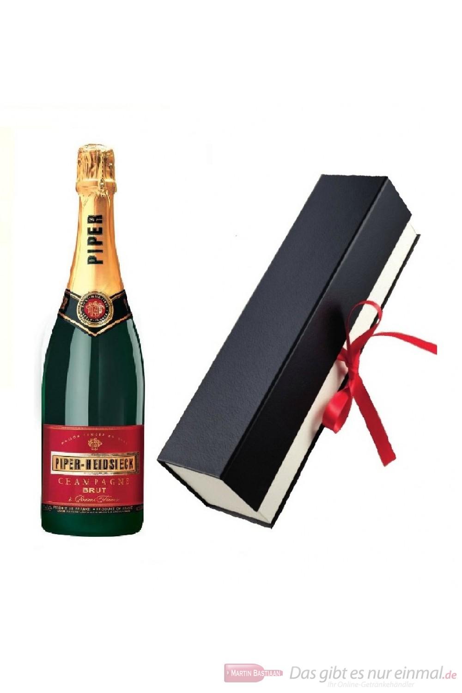 Piper Heidsieck Champagner in Geschenkfaltschachtel