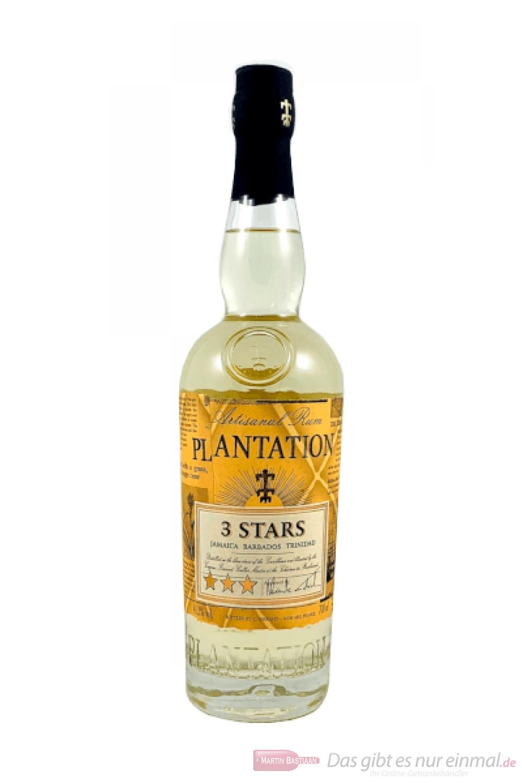 Plantation Blanco 3 Stars Rum 0,7l Flasche