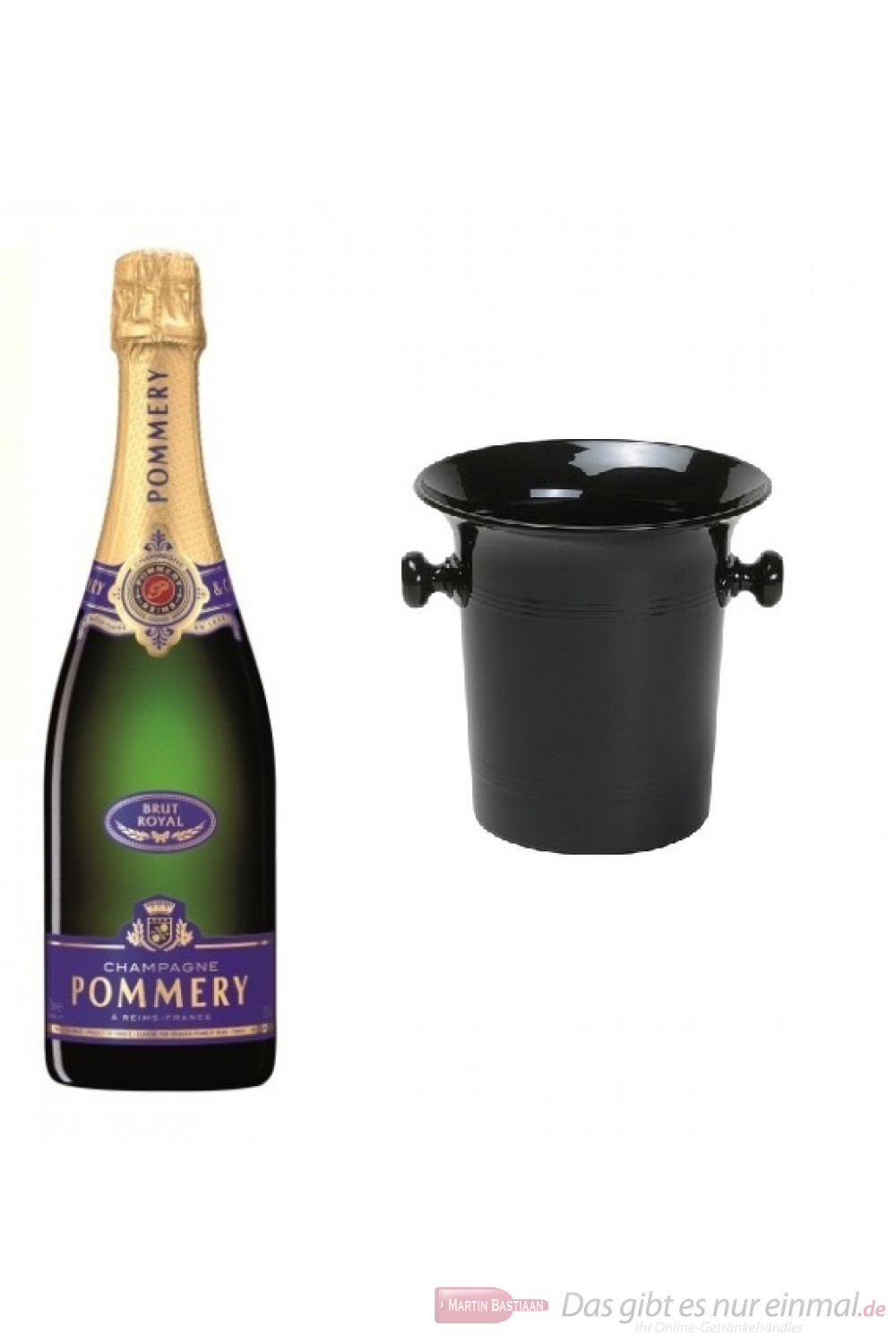 Pommery Royal Brut in Kübel