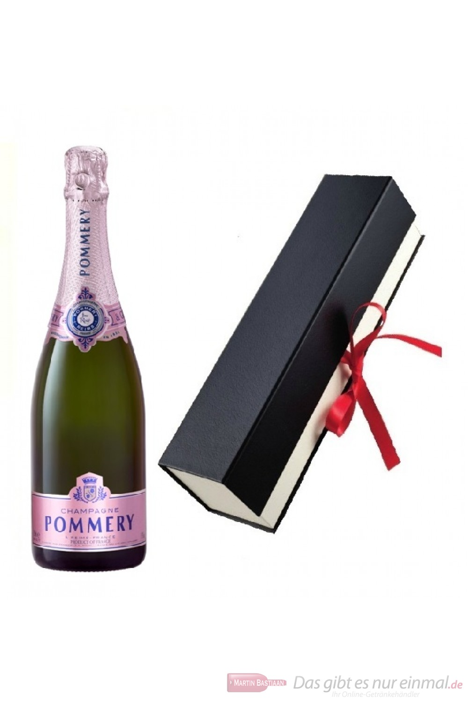 Pommery Rose Geschenkfaltschachtel
