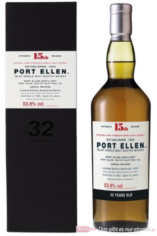 Port Ellen 32 Years 15th Release