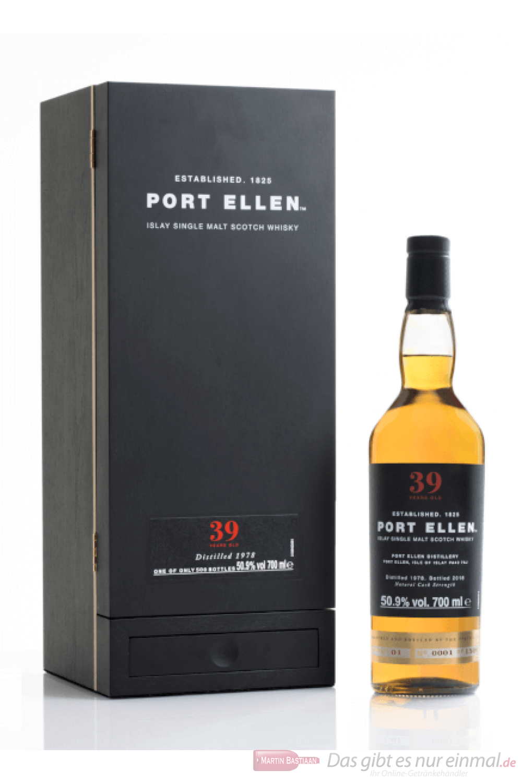 Port Ellen 39 Years Untold Stories Single Malt Scotch Whisky 0,7l