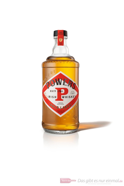 John Powers Gold Label Irish Whisky 0,7l