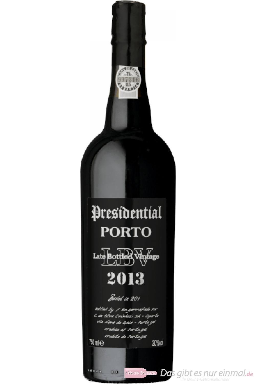 Presidential Porto Late Bottled Vintage 2013 Portwein 0,75l